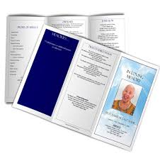 paper for funeral programs select a funeral program design and layout