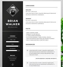 psd resume template photoshop resume template project scope template