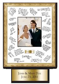 wedding autograph frame 38 best gift ideas images on gifts