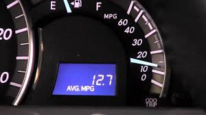 gas mileage 2007 toyota camry 2012 toyota camry average fuel economy meter how to by