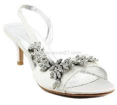 wedding shoes mid heel satin mid heel strappy sandals wedding bridal shoes id