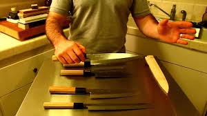 single bevel knives in japanese japanese knife imports youtube