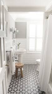 stylish bathroom 10 beyond stylish bathrooms with patterned encaustic tile
