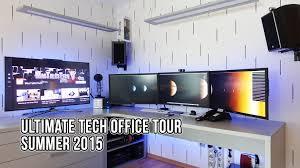 ultimate tech office tour 3 summer 2015 dreamsetup youtube