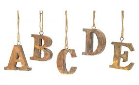 letter ornaments jayson home
