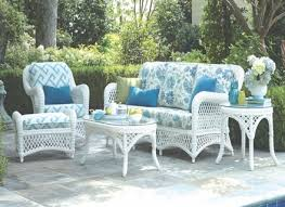Details About Jeco Wicker Patio Furniture White Outdoor Coffee - Outdoor white wicker furniture