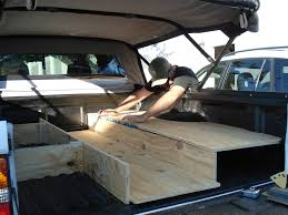 homemade truck bed outstanding truck bed sleeping platform and homemade camping
