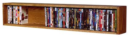 Vhs Storage Cabinet Wall Mounted Dvd Rack Storage Cosmecol