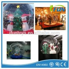 Outdoor Christmas Decorations Snow Globe by Outdoor Snow Globe Inflatable Decorations Outdoor Snow Globe