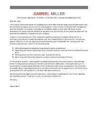 pharmacist cover letter example best pharmacist cover letter