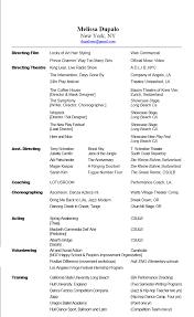 Dance Instructor Resume Sample by Elementary Dance Movement Teacher Resume