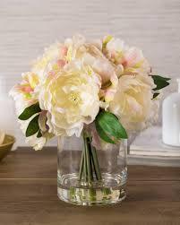 Peony Floral Arrangement by Peony Flower Arrangement Balsam Hill
