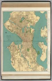 seattle map seattle david rumsey historical map collection