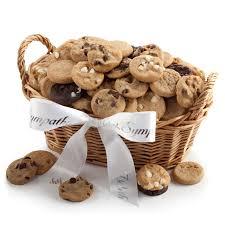 mrs fields gift baskets to it mrs fields sympathy gift basket 39 99