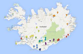 Iceland Map World Planning Photography Trip Iceland