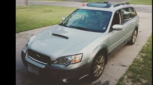 subaru outback xt my lowered outback xt youtube