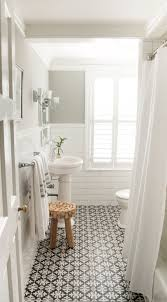 Bathroom Flooring Ideas 24 Ways To Use Patterned Tile In Neutral Spaces Shower Fixtures