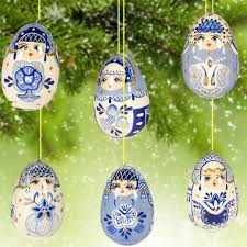 christmas ornaments matryoshka russian christmas ornaments