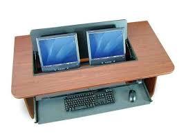 Dual Monitor Computer Desks Multi Monitor Computer Desk Multi Monitor Computer Desk Brilliant
