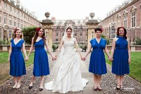 dessy wedding dresses real bridesmaids in convertible dresses by dessy
