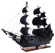 Pearl Home Decor Black Pearl Pirate Ship Model Home Decor By Old Modern