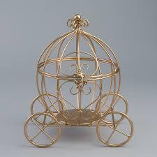 cinderella carriage centerpiece 11 5 gold cinderella pumpkin carriage wedding centerpiece