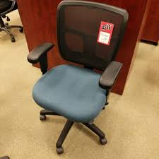 Office Furniture In San Diego by Office Master Multi Adjustable Ergonomic Mesh Back Task Chair Blue