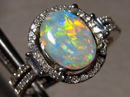 Opal Wedding Ring Sets by Opal Engagement Ring Set Engagement Rings For Men And Women