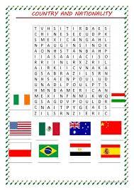 word search nationalities printable word search nationality worksheet free esl printable worksheets