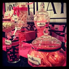 Pink And Black Candy Buffet by 118 Best Candy Table Images On Pinterest Sweet Tables Candy