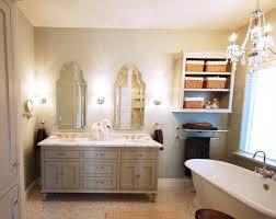 silver arch bathroom mirror design ideas