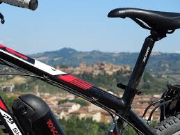 porta mtb auto cycling route passing 8 castles in tuscany