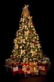 large christmas tree christmas lights decoration