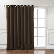 Curtains For Drafty Windows Amazon Com Rhf Thermal Insulated Blackout Patio Door Curtain