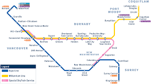 vancouver skytrain map weekend skytrain maintenance changes routes temporarily