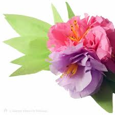crepe paper flowers crepe paper flowers learn how to make a beautiful flower spray