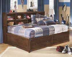 Bed Set With Drawers by Delburne Full Bookcase Bed With Storage B362 51 85 88 Beds