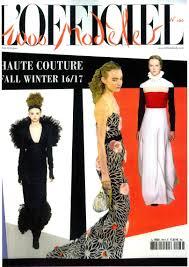 chambre syndicale de la couture site officiel l officiel 1000 modeles features georges hobeika fw 16 17 couture in