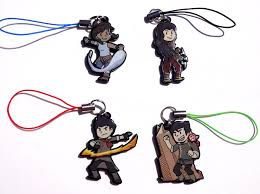 legend korra acrylic charms korra asami sato mako