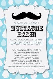 baby shower mustache mustache baby shower invitations kawaiitheo