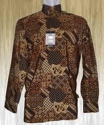 Baju Batik Batik baju batik batik motif abstrak semi gelap corak jawa eropa