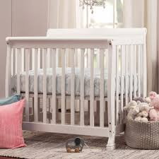 Davinci Emily Mini Crib White Davinci Kalani Mini Crib In White M5598w Free Shipping 159 00