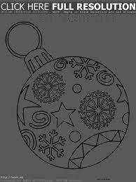 coloring page christmas ornament printable u2013 merry christmas