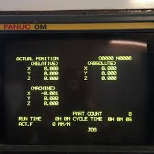 inputting parameters fanuc om b