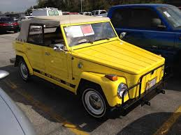 old volkswagen yellow 1974 volkswagen thing type 181 start up quick tour u0026 rev