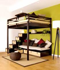 efficient storage ideas for small bedroom of modern design and