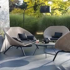 salon de jardin ensemble de jardin en rotin loa castorama summer living