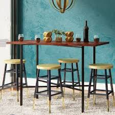 Rectangular Kitchen  Dining Tables Youll Love Wayfair - Counter table kitchen