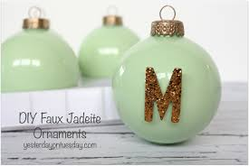 faux jadeite ornaments yesterday on tuesday