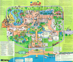 magic kingdom disney map walt disney guide maps the according to